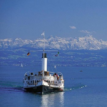 Bodenseeschiff Alpen