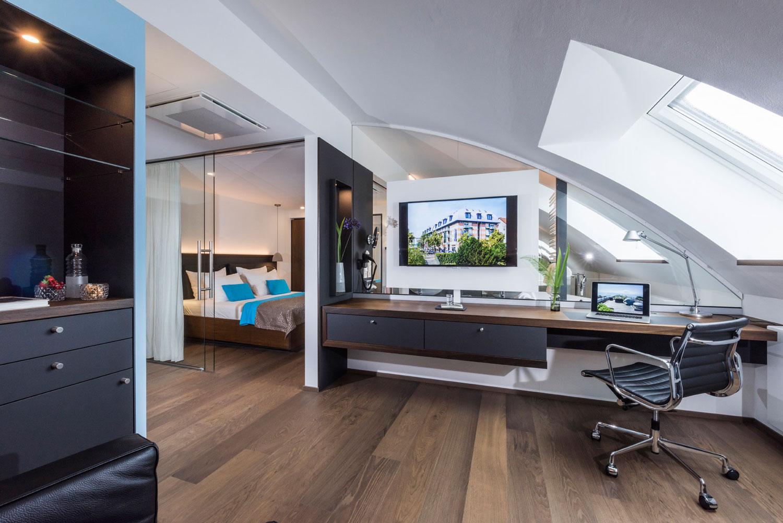Suite-Wohnbereich